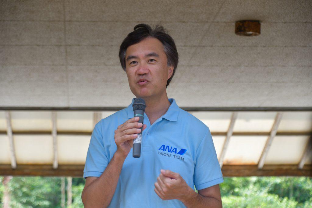 ANAホールディングスのデジタル・デザイン・ラボのチーフディレクター津田佳明氏