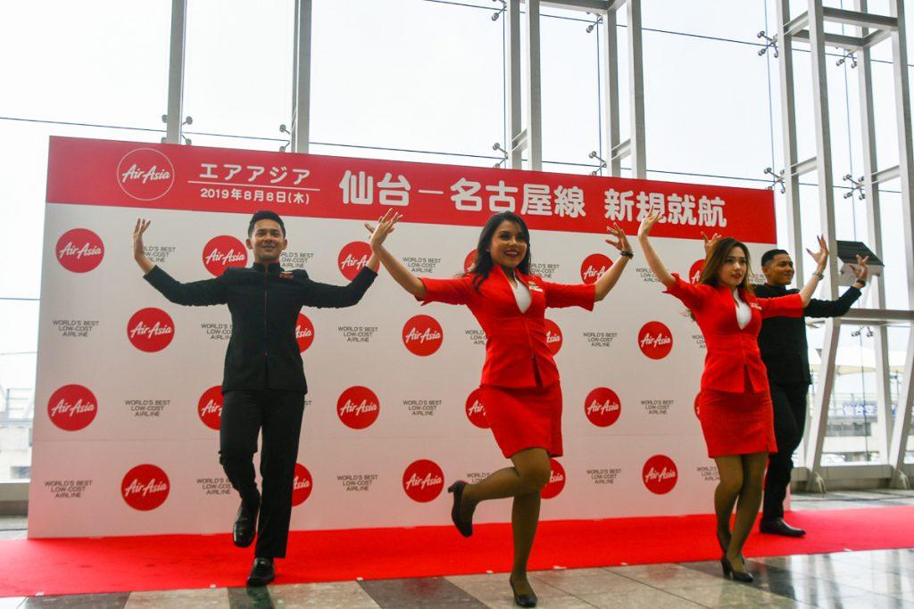 エアアジア「Fun Team」によるダンスパフォーマンス