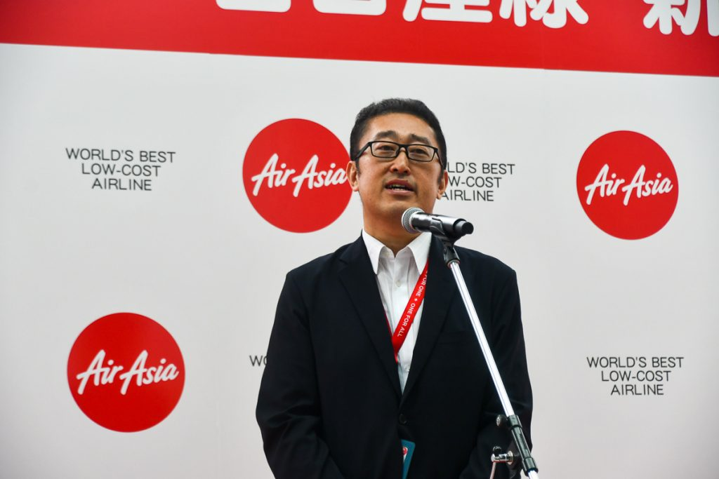エアアジア・ジャパンの谷本龍哉代表取締役会長