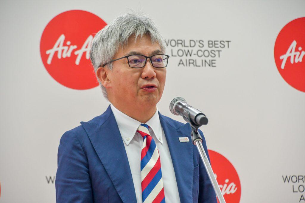 仙台国際空港の岩井卓也代表取締役