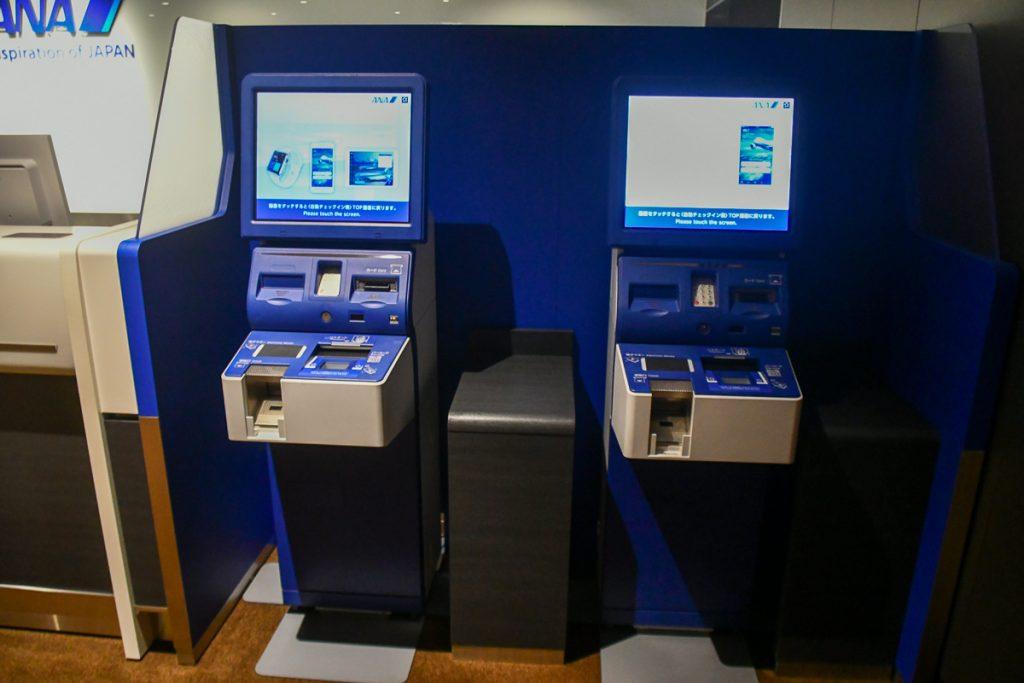 伊丹空港に9月3日にオープンする「ANA PREMIUM CHECK-IN」エリア。保安検査場も併設している。