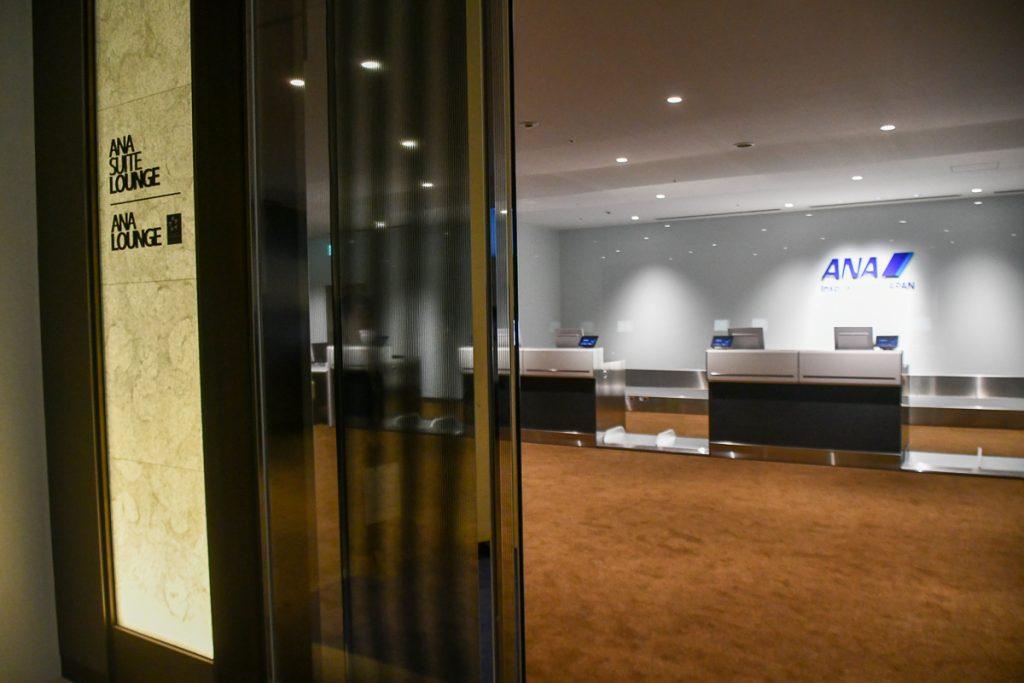 室内型カウンター「ANA PREMIUM CHECK-IN」のエントランス