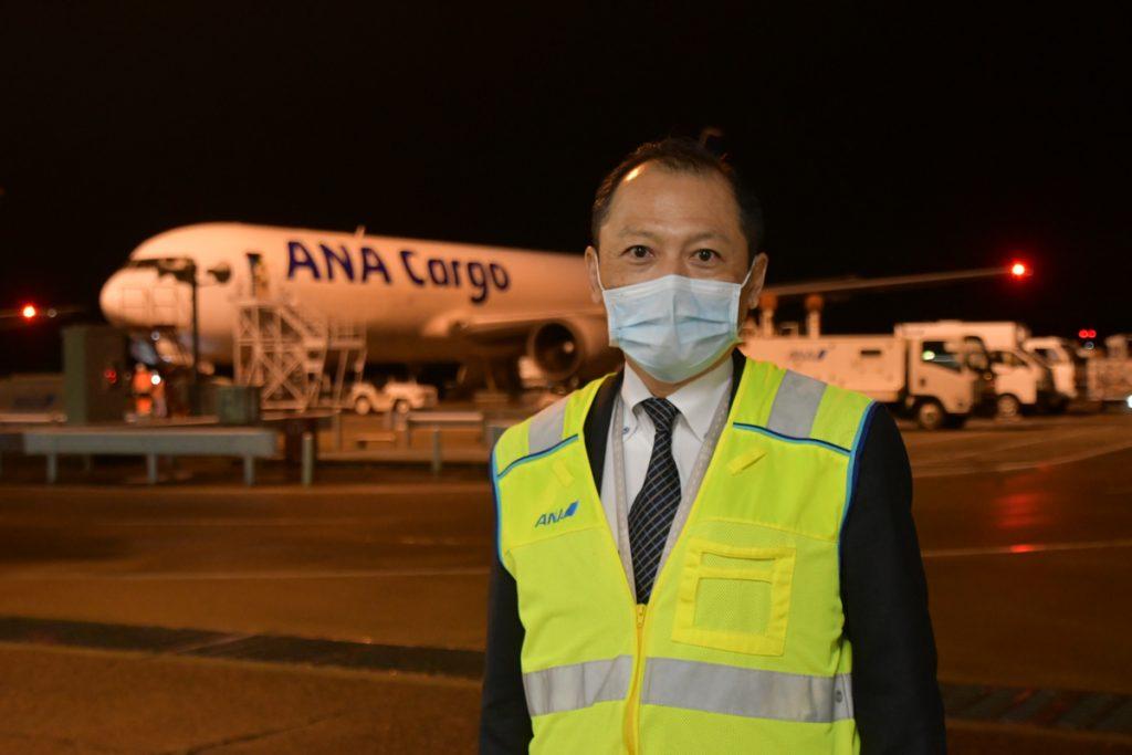 ANA Cargoの勝部昭男取締役 成田ウェアハウスオペレーションセンター長